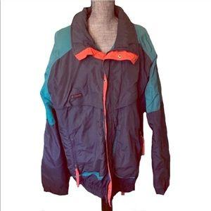 Men's Vintage Columbia Coat Ski Jacket Powder Keg